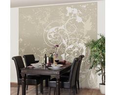 Apalis 97907 Vlies / Fototapete Perlmutt Ornament Design Quadrat | Vlies Tapete Wandtapete Wandbild Foto 3D Fototapete für Schlafzimmer Wohnzimmer Küche | Größe: 192x192 cm