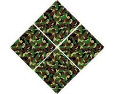 INDIGOS 4051719835779 Wandtattoo ME189 Soldaten Krieg Fliesen Armee Army Tarn 60 x 60 cm
