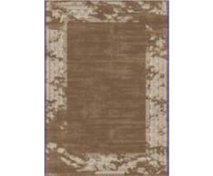 G & G Flora Carpets Modern Fashion/Leo Teppichläufer, Polyester, Braun, 300 x 80 x 1,2 cm