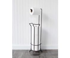 Inspired Living Toilettenpapierhalter, freistehend Toilet Paper Tower Warwick Ii Bronze