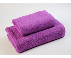 Das Dragon Blanco Waschbecken mit Badetuch, 100% Baumwolle, leistungsstark, 50 x 100; 100 x 150 cm