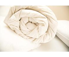 Boston Duvet & Pillow Co 10,5 Weich und anschmiegsam wie Daunen Bettdecke, King Size, Weiß