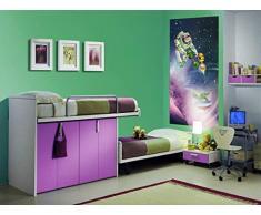 AG Design FTDv 1813 Toy Story Disney, Papier Fototapete Kinderzimmer - 90x202 cm - 1 Teil, Papier, multicolor, 0,1 x 90 x 202 cm