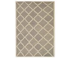 Bakero Romantic Badteppiche Wool Silber 183 x 122 x 1.5 cm