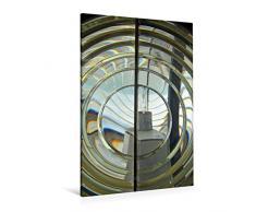 Premium Textil-Leinwand 80 x 120 cm Hoch-Format Laterne des Leuchtturms von Mont Saint-Clair   Wandbild, HD-Bild auf Keilrahmen, Fertigbild auf hochwertigem Vlies, Leinwanddruck von Patrice Thébault
