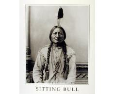 Sitting Bull Native American Indian Chief Poster/Kunstdruck (40 x 50)