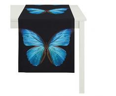 APELT Papillon 45x135 Fb. 10 Tischläufer 45 x 135 cm, Schmetterling