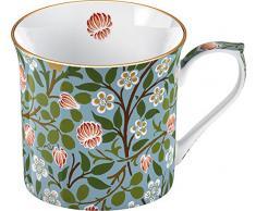 CREATIVE TOPS Palace Tasse aus feinem Porzellan in Geschenkbox, klee