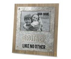 Pavillon Bilderrahmen Brother Like No Other - Holz/Metall, 10 x 15 cm
