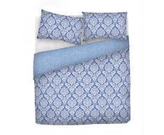 emotion cp-em Damast Bettbezug, 100% Baumwolle, Mehrfarbig, Doppelbett, 47 x 35 x 4 cm
