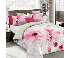 Kiosa Bettwäsche für Doppelbett 250 x 200 cm Multicolore (Ko640)