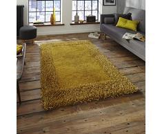 Think Rugs Teppich, gelb, 150cm x 230cm