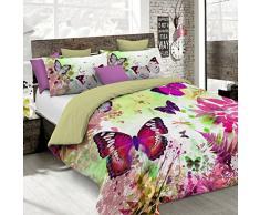 Kiosa Bettwäsche für Doppelbett 250 x 200 cm Multicolore (Ko641)