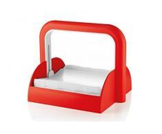 Guzzini 70055–31 Formen Casa Serviettenhalter, Kunststoff, rot