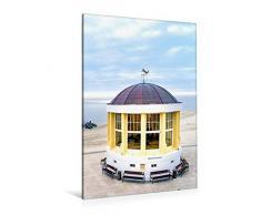 Premium Textil-Leinwand 80 x 120 cm Hoch-Format Pavillon mit Weihnachtsbaum   Wandbild, HD-Bild auf Keilrahmen, Fertigbild auf hochwertigem Vlies, Leinwanddruck von Andrea Dreegmeyer