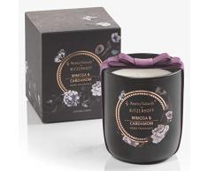 RITZENHOFF Aroma Naturals Noir Duftkerze, Mimosa & Cardamom, in Geschenkverpackung