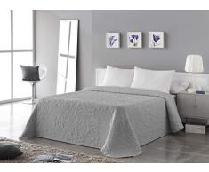 VIALMAN Tagesdecke, grau, für Bett mit 135 cm: 230 x 260 cm.