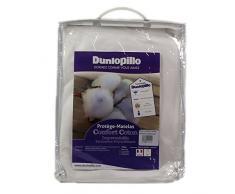Dunlopillo PLBATH140190DPO Matratzenschoner, 140 x 190 cm, Weiß