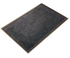 Doortex Schmutzfangmatte   Fußmatte ultimat   90 x 150 cm   aus Mikrofaser   Polypropylen   Vinyl   braun   rechteckig   für den Innenbereich