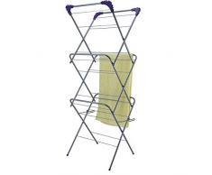 Everlasto Wäscheständer mit 3 Etagen, grün, Einzelbett