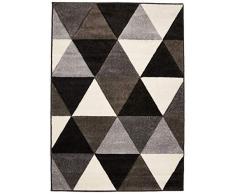 Petti Artigiani Teppich, Grau, 100 x 140 cm