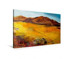Calvendo Premium Textil-Leinwand 90 cm x 60 cm quer, EIN Motiv aus dem Kalender Landschaften in Acryl   Wandbild, Bild auf Keilrahmen, Fertigbild auf echter Leinwand, Leinwanddruck Natur Natur
