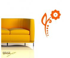 Graz Design 620471_30_083 Kühlschrank Aufkleber Wandtattoo für Küche Bei mir zählen nur Spruch, Größe 31 x 30 cm, Farbe 083, haselnussbraun