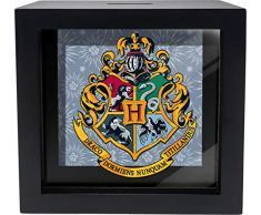 Spoontiques Hogwarts Crest Shadowbox Bank, Schwarz