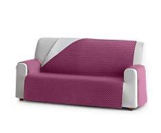 Eysa Oslo Protect wasserdichte und atmungsaktive Sofa überwurf, 100% Polyester, violett, 110 cm