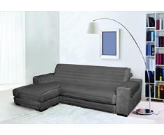Trendy Sofabezug mit Penisel 290 cm dunkelgrau