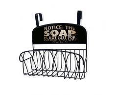 Die Stupell Home Decor Kollektion Seife ist Nicht nur für Dekoration über der Tür Organizer Korb