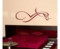 Graz Design 620448_57_070 Kühlschrank Aufkleber Wandtattoo für Küche Keep it Cool Eiswürfel, Größe 78 x 57 cm, Farbe 070, schwarz