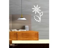 Graz Design 620473_50_031 Kühlschrank Aufkleber Wandtattoo für Küche Ich bin Lecker Spruch, Größe 75 x 50 cm, Farbe 031, rot