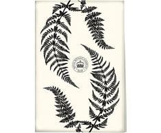 Creative Tops Die Royal Botanic Gardens Kew schwarz Ferns Geschirrtuch, Mehrfarbig, Farbe