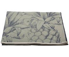 David Fussenegger NOVA Überwurf Ananas, Baumwoll-Mischgewebe, Salbei, 220 x 145 cm