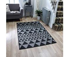 Oriental Weavers Teppich, 100% Polypropylen, Schwarz, 120cm x 160cm
