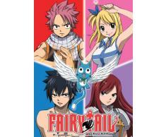 Great Eastern Entertainment Fairy Tail Gruppe Wall Scroll, 33 von Blumenkasten