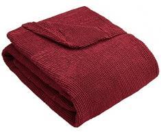 Zebra Textil 24744 Sofahusse Elastisch Z51 4-Sitzer, Rot