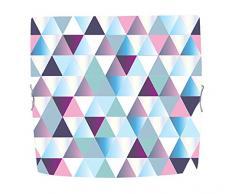 Tosel 40645 Deckenleuchte, Diamonds, quadratisch, Stahlblech, Epoxidharz, E27, 100 W, Fotofarbe