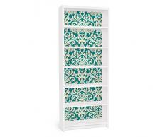 Apalis 90808 Möbelfolie für Ikea Billy Regal - The 12 Muses - Aoide, größe 2 mal, 94 x 76 cm