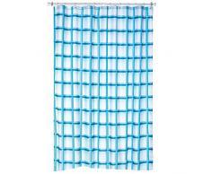 Kela Laneta Vorhang für die Dusche, Vinyl, Türkis, 180x 200cm