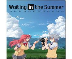 Great Eastern Entertainment Waiting in The Summer Ichika und Kaito Wall Scroll, 33 von Blumenkasten