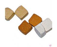 Mosaix 2293028Â 5Â x 5Â x 3Â mm 10Â G 100Â Keramik unglasiert Mosaik Micro Fliesen, terracotta Licht
