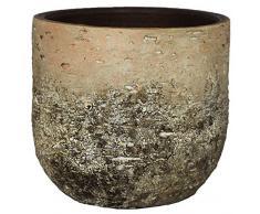 Ivyline Blumentopf, Terrakotta, braun/Creme, 15 cm