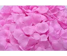 Lothringen Hochzeit Tisch Dekoration Seide Rosenblätter Blumen Konfetti rose