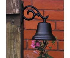 Whitehall Produkte dekorative Glocke, Mittel, Schwarz