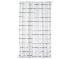 kela Duschvorhang Laneta 180x200cm aus Polyester in beige 200 x 180 x 0.8 cm