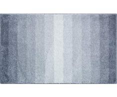 Grund Badteppich 100% Polyacryl, ultra soft, rutschfest, RIALTO, Badematte 70x120 cm, anthrazit