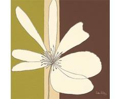 Eurographics H-K-DEH1027 D. Halliday, Cream Flower Burst, 20 x 20 cm, Keilrahmenbild, keine Einrahmung nötig
