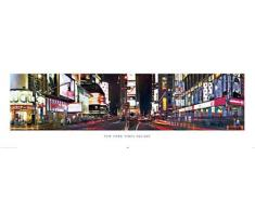empireposter New York - Times Square Version 2 - Größe (cm), ca. 158x53 - Türposter, NEU -